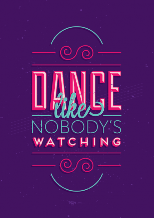 MOTIVATE ME,  dance like nobody's watching