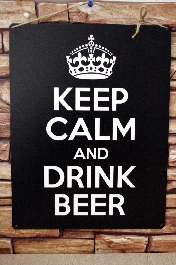 фото keep calm and drink beer
